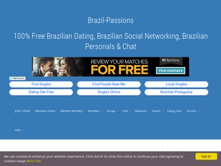 Brazil Passions Homepage Image