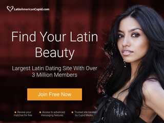 Latin American Cupid Homepage Image